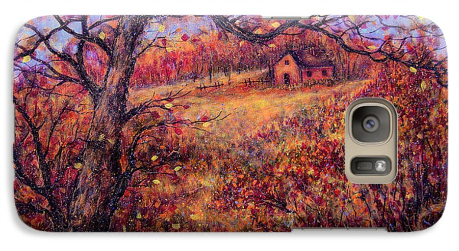 Autumn Galaxy S7 Case featuring the painting Beautiful Autumn by Natalie Holland