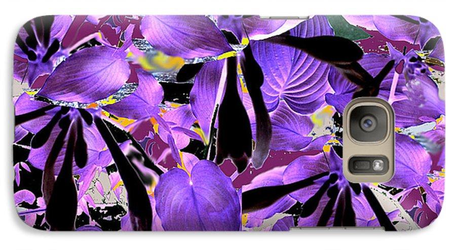 Beware The Midnight Garden Galaxy S7 Case featuring the digital art Beware The Midnight Garden by Seth Weaver