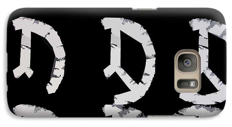 Peace Galaxy S7 Case featuring the digital art Build Up Peace by Michelle Calkins