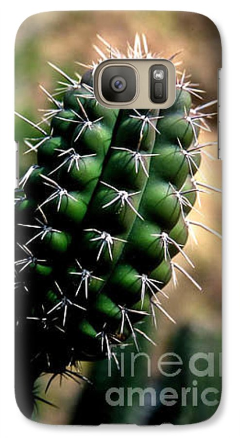 Sahuaro Galaxy S7 Case featuring the photograph Cactus Arm by Kathy McClure