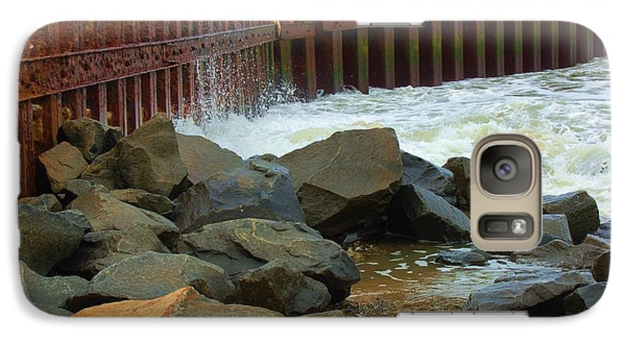 Water Galaxy S7 Case featuring the photograph Coast Of Carolina by Debbi Granruth