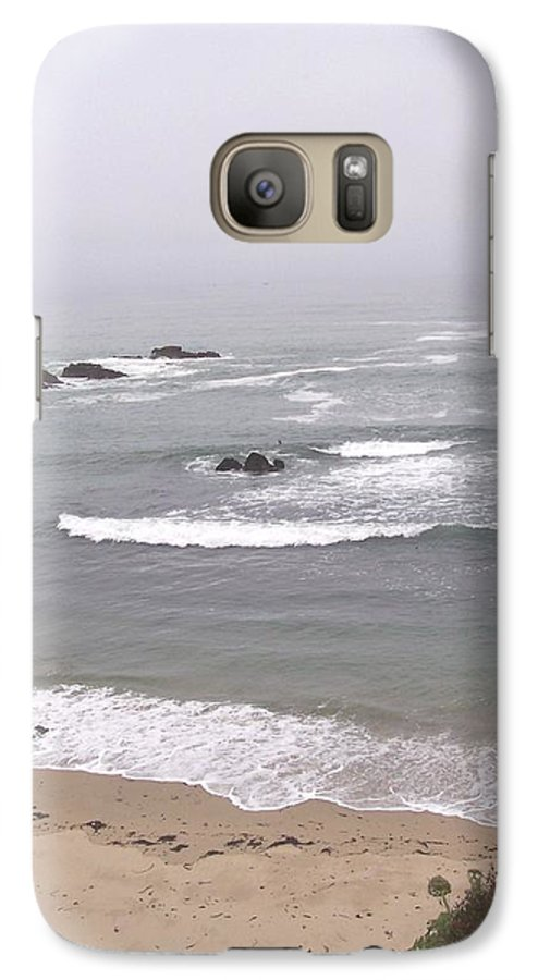 Coast Galaxy S7 Case featuring the photograph Coastal Scene 2 by Pharris Art