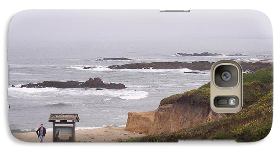 Coast Galaxy S7 Case featuring the photograph Coastal Scene 7 by Pharris Art