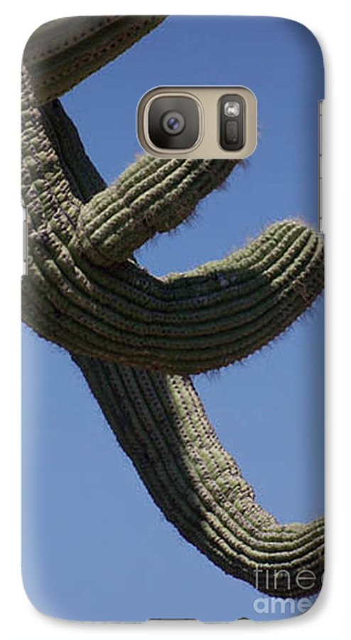 Saguaro Galaxy S7 Case featuring the photograph Come Hither by Kathy McClure