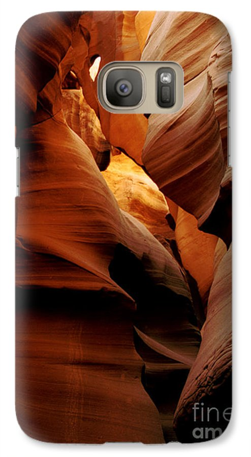 Antelope Canyon Galaxy S7 Case featuring the photograph Convolusions by Kathy McClure
