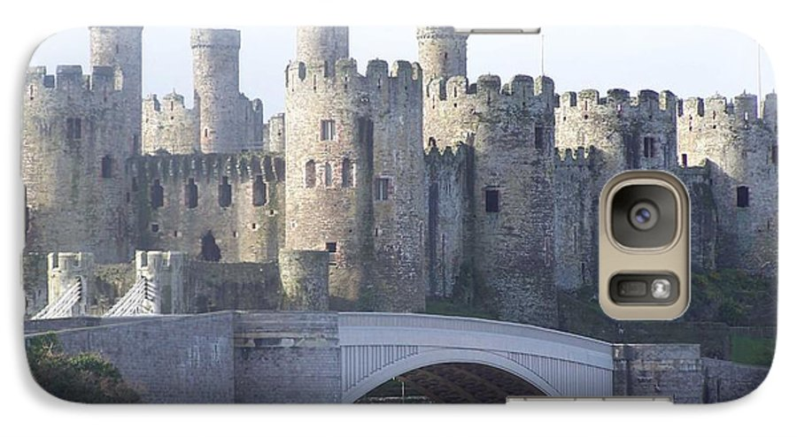 Castles Galaxy S7 Case featuring the photograph Conwy Castle by Christopher Rowlands
