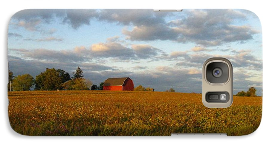 Landscape Galaxy S7 Case featuring the photograph Country Backroad by Rhonda Barrett