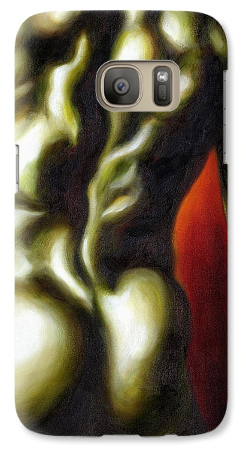Man Nude Painting Galaxy S7 Case featuring the painting Dancer Two by Hiroko Sakai