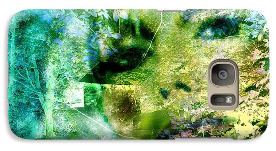 Deep Woods Wanderings Galaxy S7 Case featuring the digital art Deep Woods Wanderings by Seth Weaver