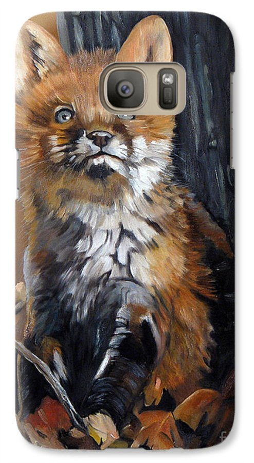 Southwest Art Galaxy S7 Case featuring the painting Dreamer by J W Baker