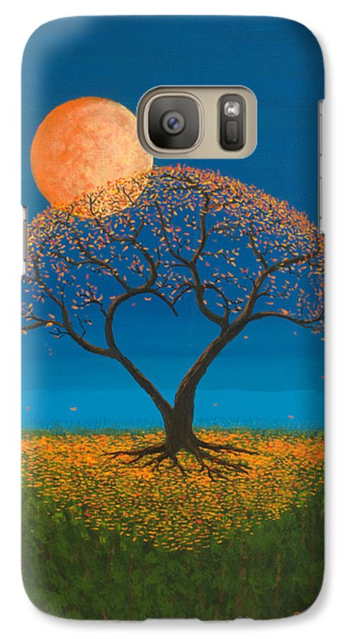 Love Galaxy S7 Case featuring the painting Falling For You by Jerry McElroy
