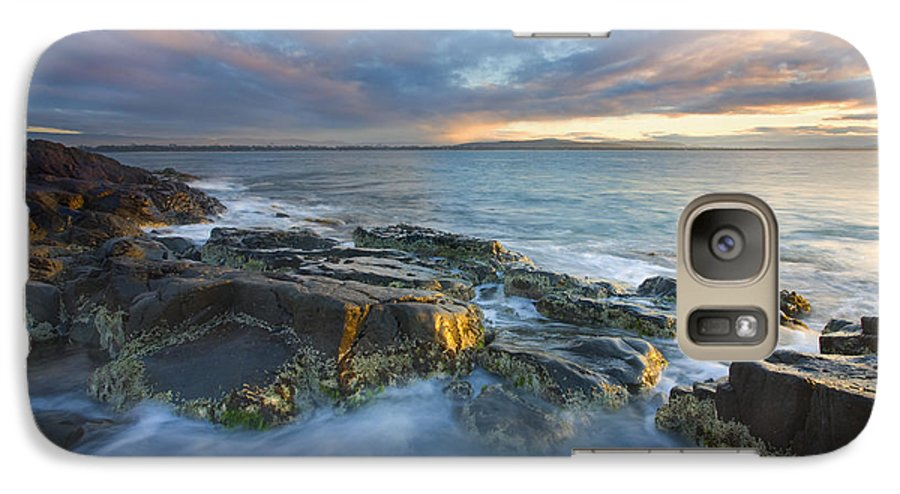 Freycinet Galaxy S7 Case featuring the photograph Freycinet Cloud Explosion by Mike Dawson