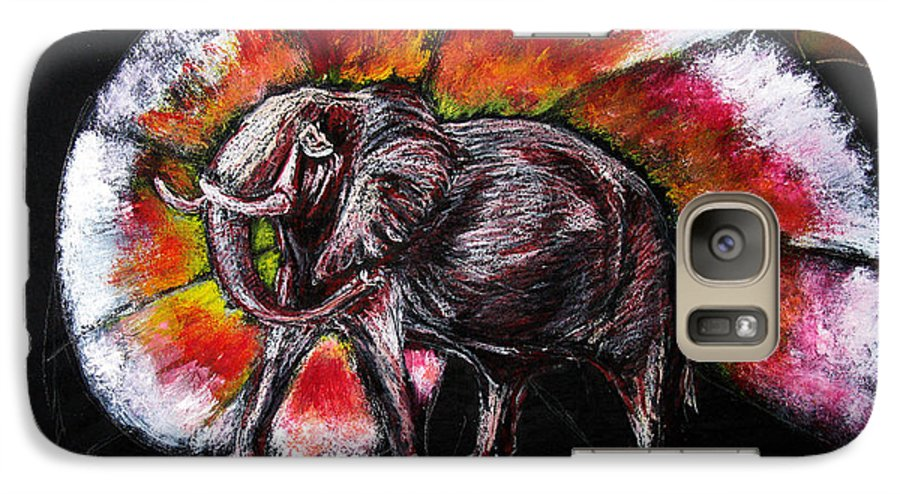 Wild Galaxy S7 Case featuring the drawing Grand Designs For Life On Earth by Tom Conway