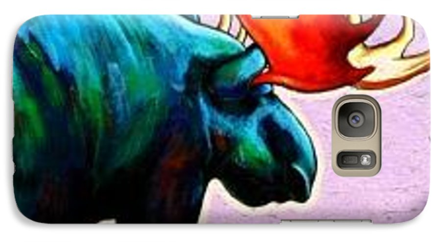 Wildlife Galaxy S7 Case featuring the painting He Answers The Call by Joe Triano