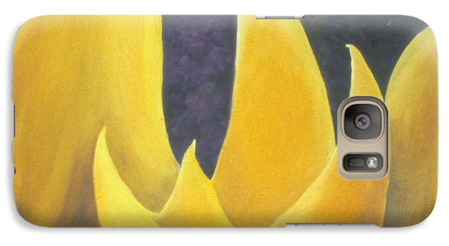 Tulips Galaxy S7 Case featuring the painting Hope by Christina Rahm Galanis