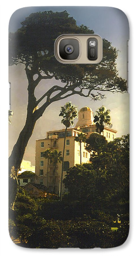 Landscape Galaxy S7 Case featuring the photograph Hotel California- La Jolla by Steve Karol