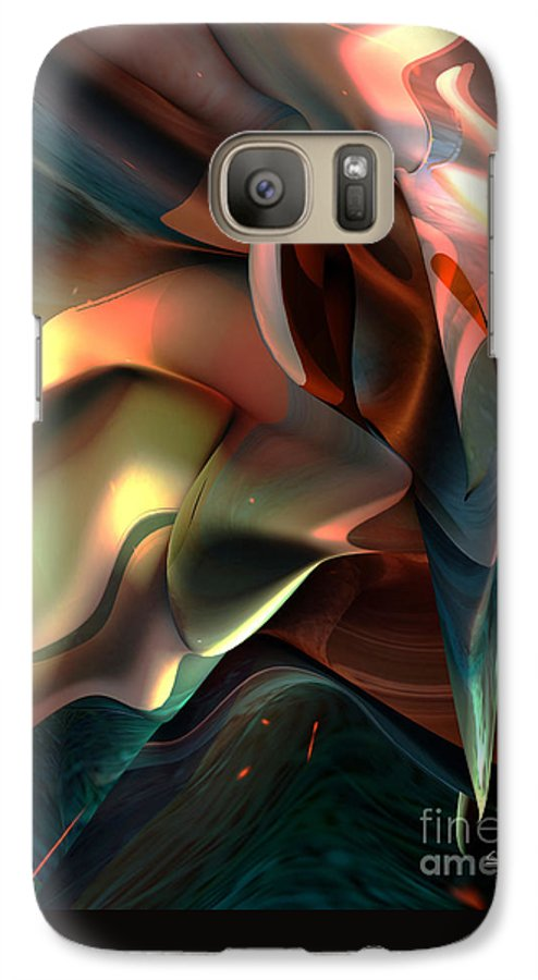 Painter Galaxy S7 Case featuring the painting Jerome Bosch Atmosphere by Christian Simonian