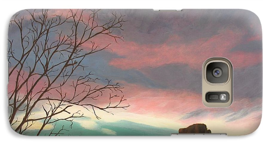 Sedona Galaxy S7 Case featuring the painting Jewels In The Sky by Janis Mock-Jones