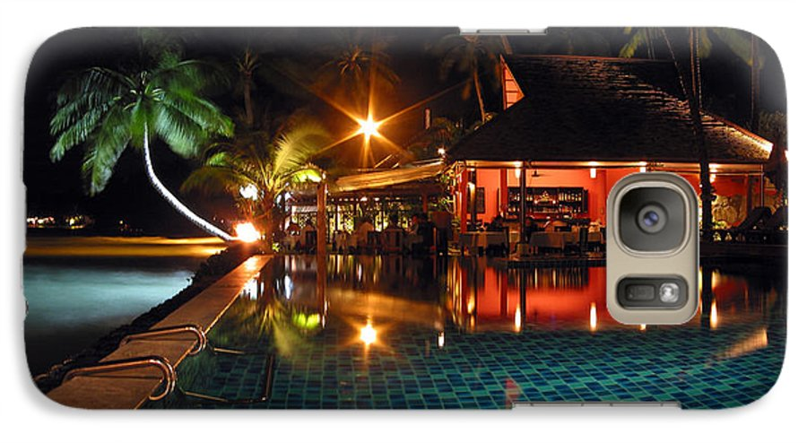 3scape Photos Galaxy S7 Case featuring the photograph Koh Samui Beach Resort by Adam Romanowicz