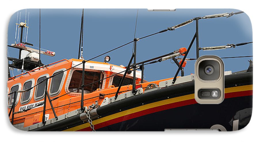 Life Galaxy S7 Case featuring the photograph Life Boat by Christopher Rowlands