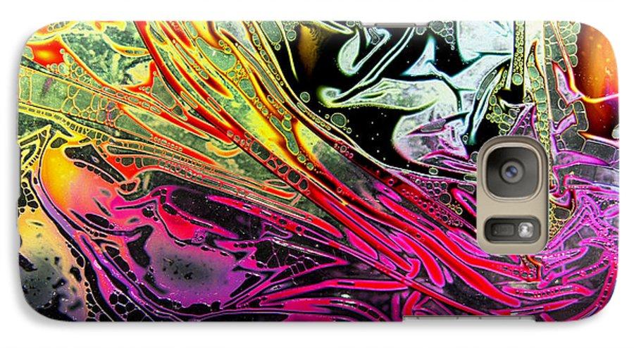 Surrealism Galaxy S7 Case featuring the digital art Liquid Decalcomaniac Desires 1 by Otto Rapp