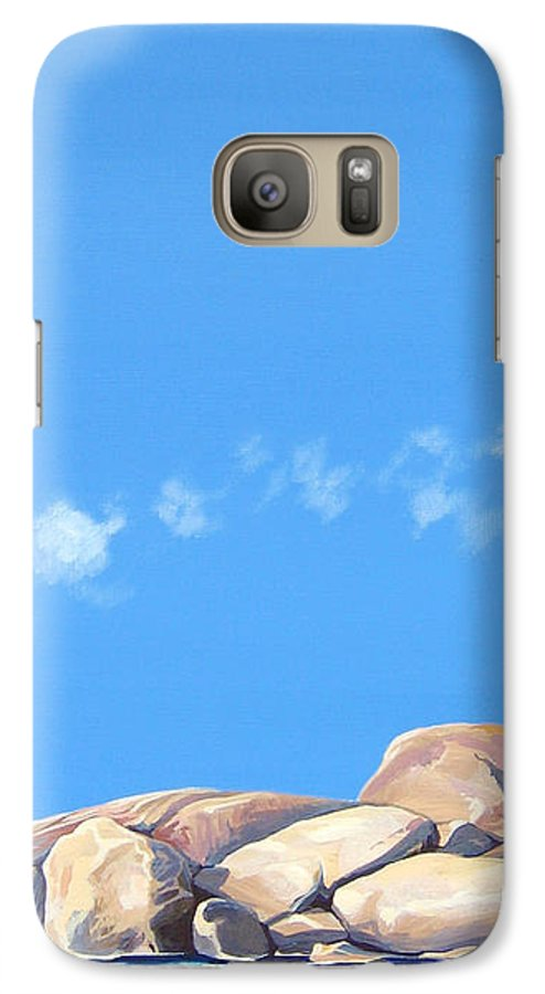 Rocks Galaxy S7 Case featuring the painting Lost Voices by Hunter Jay