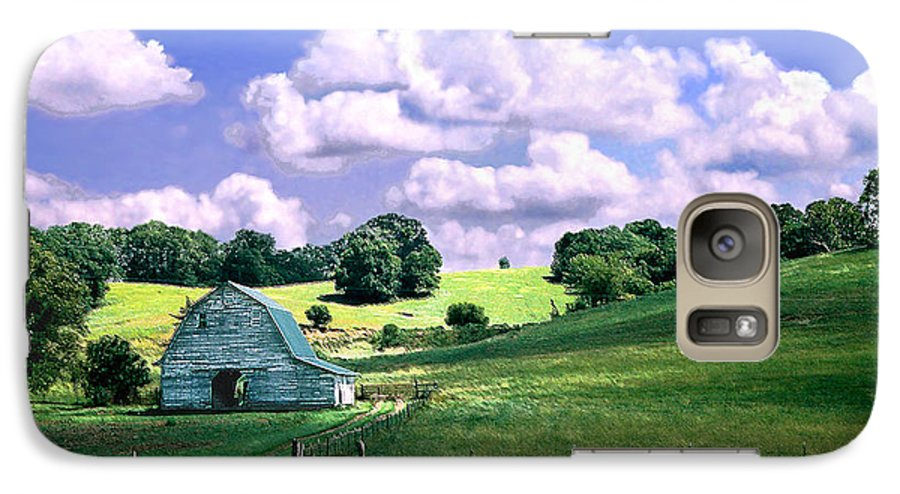 Landscape Galaxy S7 Case featuring the photograph Missouri River Valley by Steve Karol