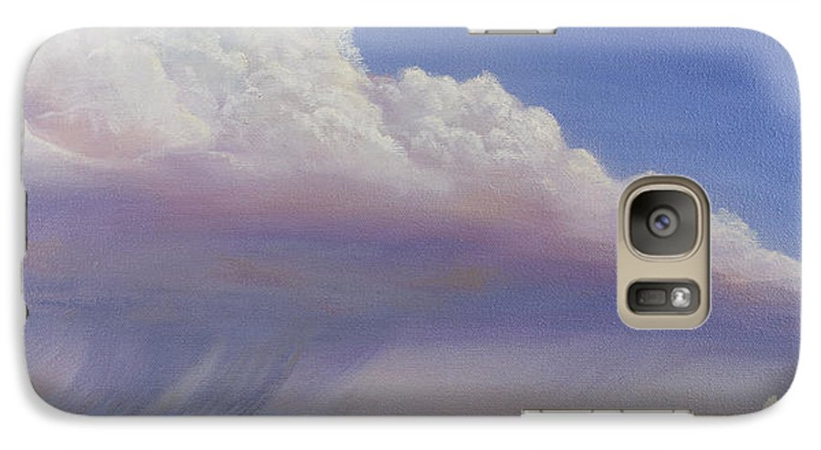 Landscape Galaxy S7 Case featuring the painting Nebraska Vista by Jerry McElroy