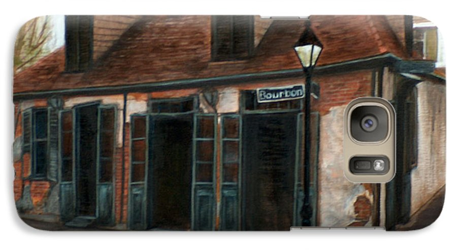 Realism Galaxy S7 Case featuring the painting New Orleans Familiar Site Before by M J Venrick