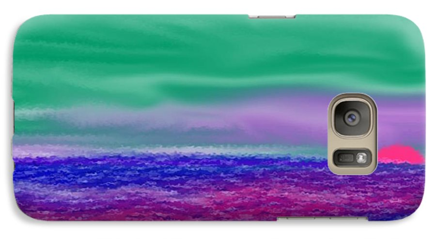 Morning Galaxy S7 Case featuring the digital art One Simple Morning by Dr Loifer Vladimir