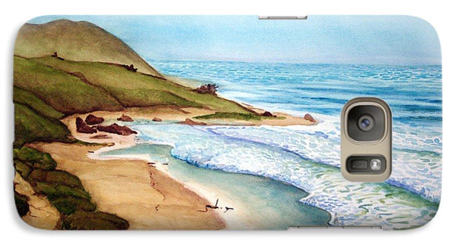 Rick Huotari Galaxy S7 Case featuring the painting Pacific by Rick Huotari