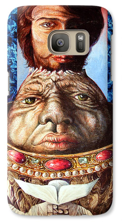 Surrealism Galaxy S7 Case featuring the painting Parthenogenesis II by Otto Rapp