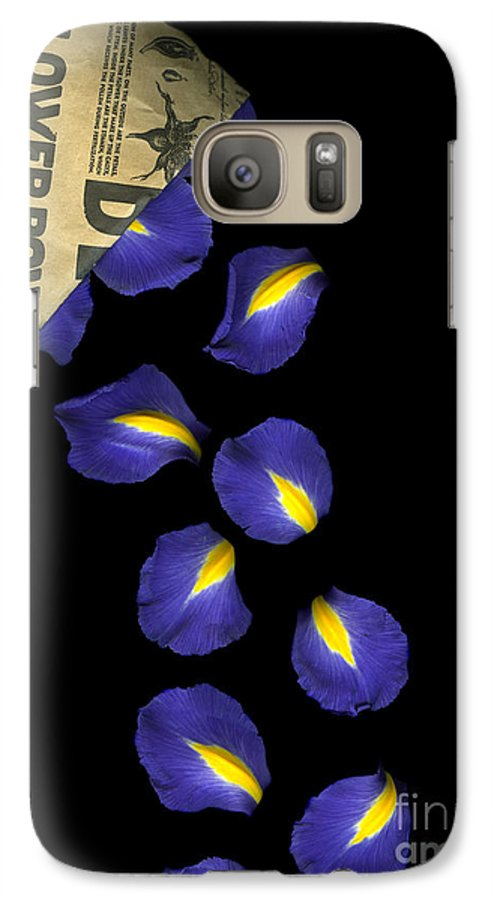 Scanography Galaxy S7 Case featuring the photograph Petal Chips by Christian Slanec