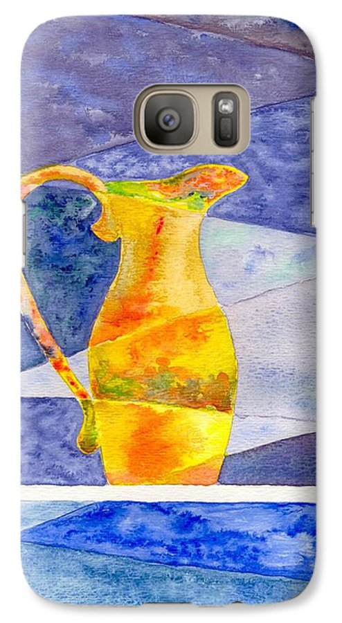 Still Life Galaxy S7 Case featuring the painting Pitcher 1 by Micah Guenther