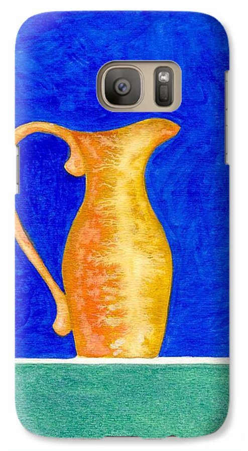 Still Life Galaxy S7 Case featuring the painting Pitcher 2 by Micah Guenther