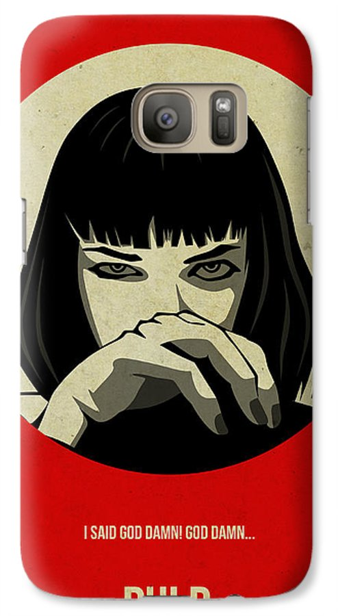 cover samsung s7 pulp fiction
