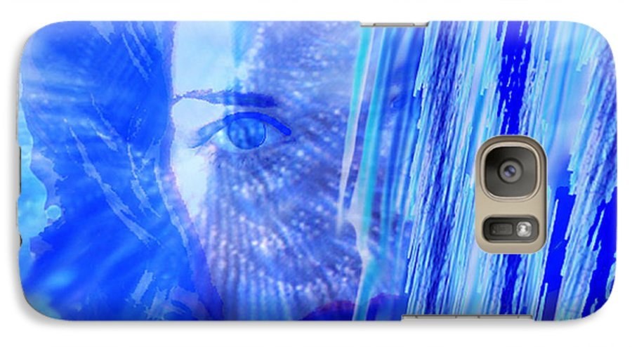 Rainy Day Dreams Galaxy S7 Case featuring the digital art Rainy Day Dreams by Seth Weaver