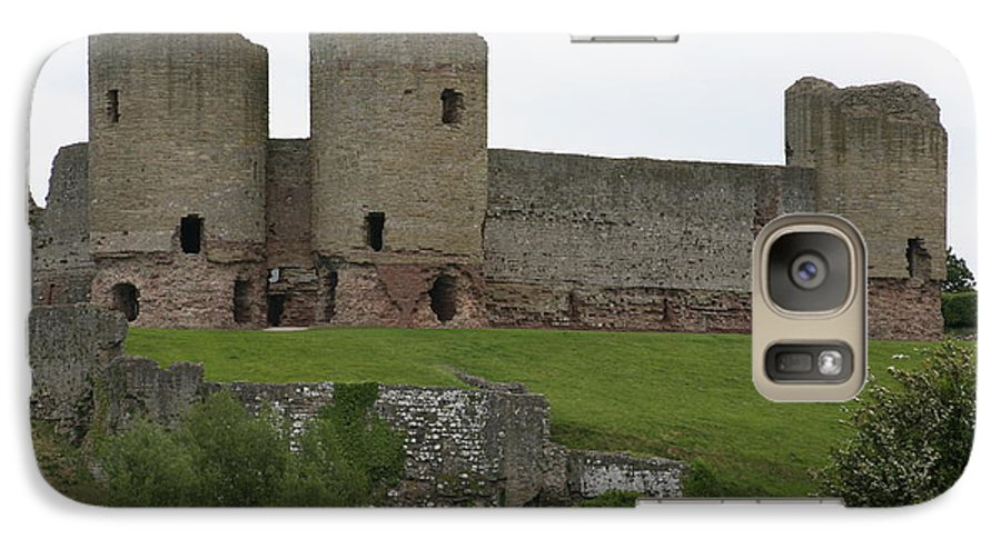Castles Galaxy S7 Case featuring the photograph Ruddlan Castle 2 by Christopher Rowlands