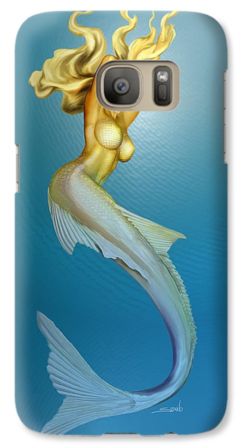 promo code 1dfc7 6a674 Sexy Mermaid By Spano Galaxy S7 Case