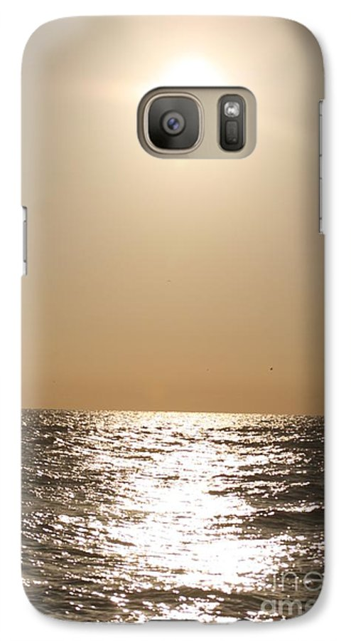 Silver Galaxy S7 Case featuring the photograph Silver And Gold by Nadine Rippelmeyer