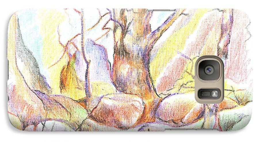 Softly Speaking Galaxy S7 Case featuring the painting Softly Speaking by Kip DeVore