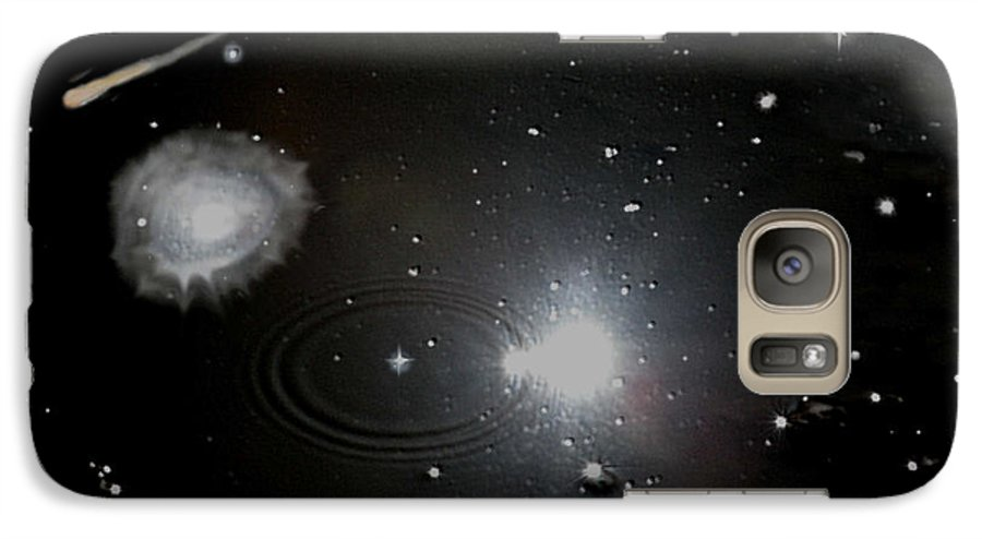 Space Galaxy S7 Case featuring the photograph Spacescape by Christopher Rowlands