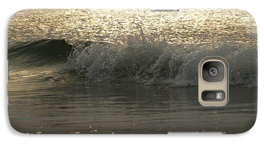 Sunrise Galaxy S7 Case featuring the photograph Sparkling Sea In Hunting Island Dawn by Anna Lisa Yoder