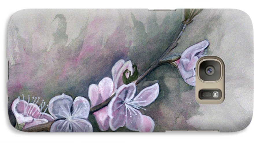 Rick Huotari Galaxy S7 Case featuring the painting Spring Splendor by Rick Huotari