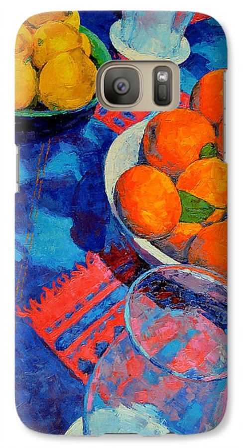 Still Life Galaxy S7 Case featuring the painting Still Life 2 by Iliyan Bozhanov