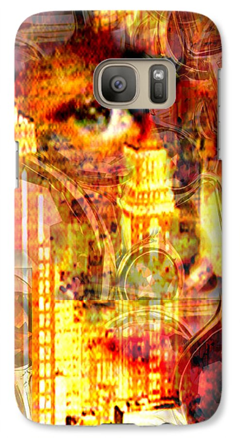 Big City Galaxy S7 Case featuring the photograph Streetwalker by Seth Weaver