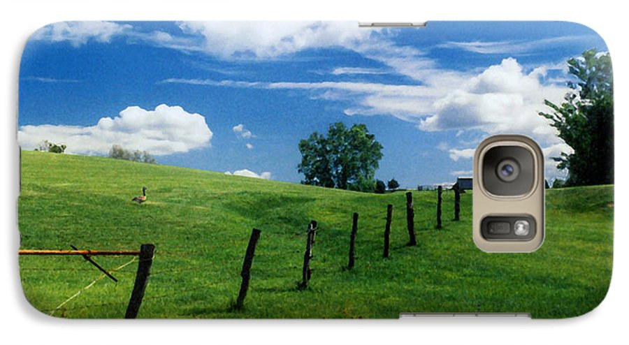 Summer Landscape Galaxy S7 Case featuring the photograph Summer Landscape by Steve Karol