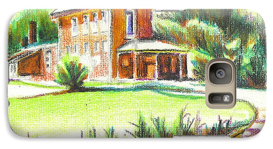 Summertime At Ursuline No C101 Galaxy S7 Case featuring the painting Summertime At Ursuline No C101 by Kip DeVore