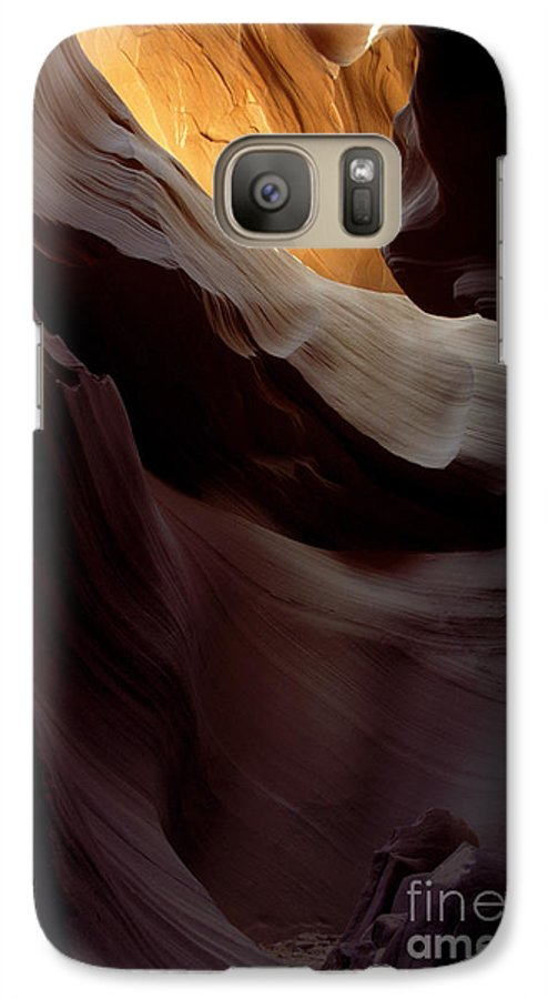 Slot Canyons Galaxy S7 Case featuring the photograph Swopes by Kathy McClure