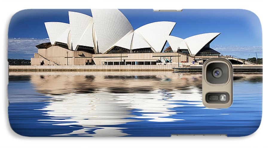 Sydney Opera House Galaxy S7 Case featuring the photograph Sydney Icon by Sheila Smart Fine Art Photography